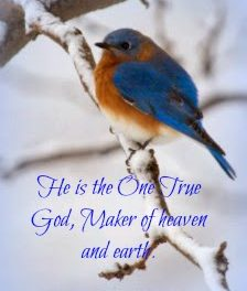 Scriptures of Encouragement ~ A Blue Exclamation Point