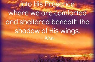 Finding God's Presence ~ And My Restless Heart Stilled