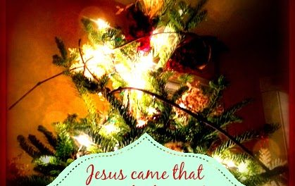 Finding God's Presence ~ The Imperfect Christmas Tree