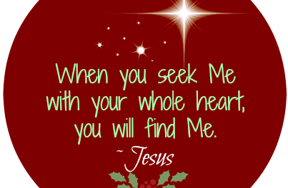 Finding God's Presence ~ When He Calls Us To Rest