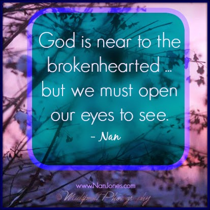 Finding God's Presence ~ Talk About Upheaval!