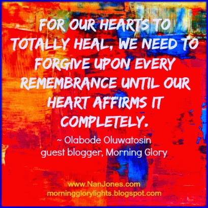 Finding the Presence of God ~ What Does Forgiveness Have To Do With My Healing?