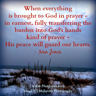 Finding God's Presence ~ When Peace Stood Like a Sentinel