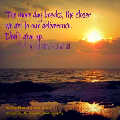 Finding God's Presence ~ Don't Give Up