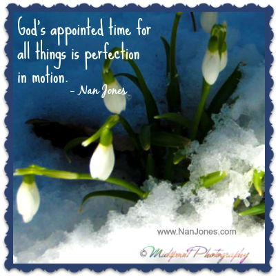 Finding God's Presence ~ Waiting for God's Appointed Time