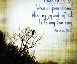 Finding God's Presence ~ A Song in the Night