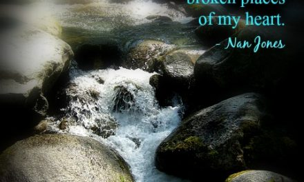 Finding God's Presence ~ Moment by Moment His Living Water Flows