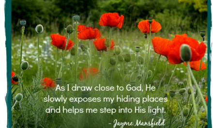 Finding God's Presence ~ Chasing My Own Butterfly