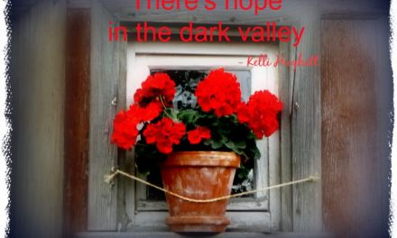 Finding God's Presence ~ How Can We Bloom When We're in A Dark Place?