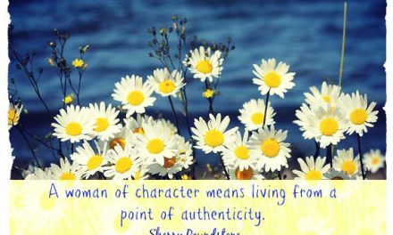 Finding God's Presence ~ What Does it Mean to Become a Woman of Character