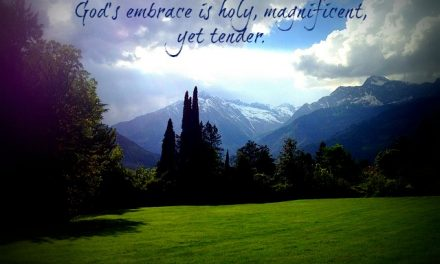 Finding God's Presence ~ Smudges and All
