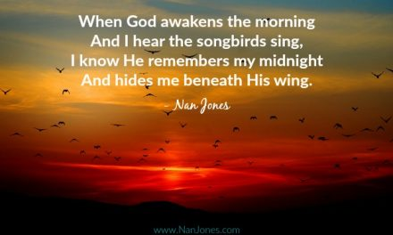 Finding God's Presence ~ When God Awakens the Morning