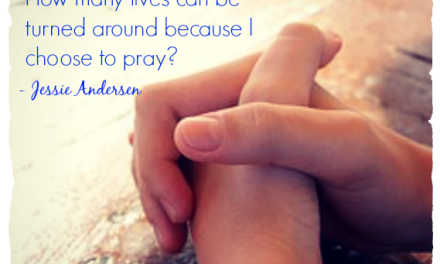 Finding God's Presence ~ What Happens When One Person Prays?