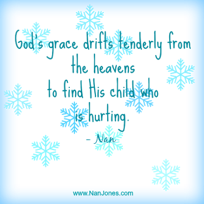 Finding God's Presence ~ Could Grace Be Like Snow?
