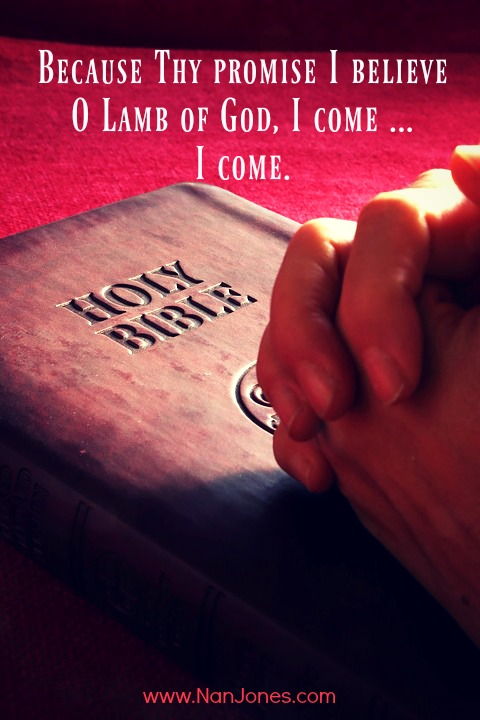 Just as I am, Lord, I come