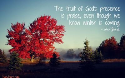 Could the Fruit of God's Presence Be Praise? The Story of the Maple Tree