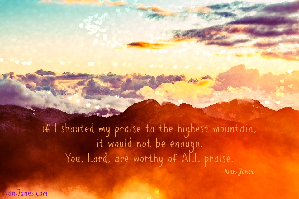 In You, Lord, we find our peace.