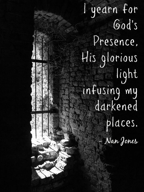 Finding God's Presence ~ The Perfect Dwelling Place