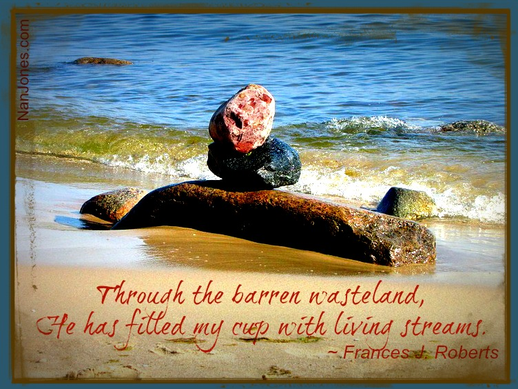 Finding God's Presence ~ Remembering With a River Rock