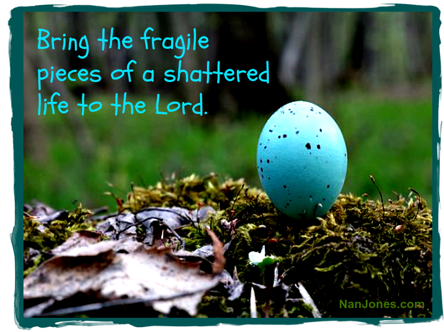 Hope is secured in the breaking of a robin's egg.