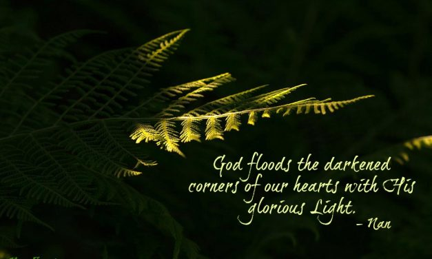 Finding God's Presence ~ From Darkened Corners to Glorious Light