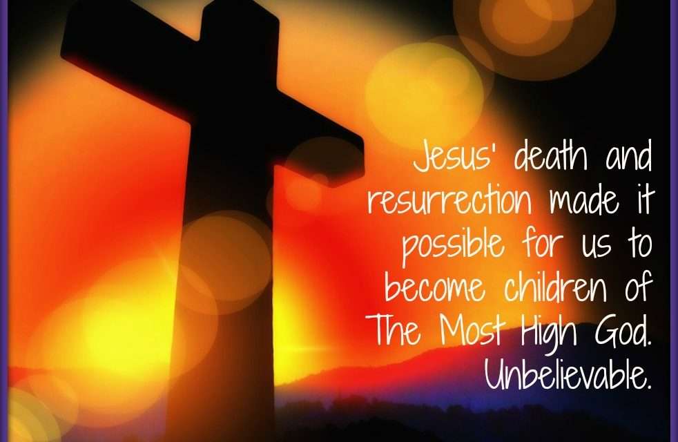 Finding God's Presence ~ A Prayer to Know His Resurrection Power