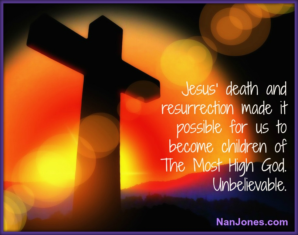 His resurrection power dwells in us.