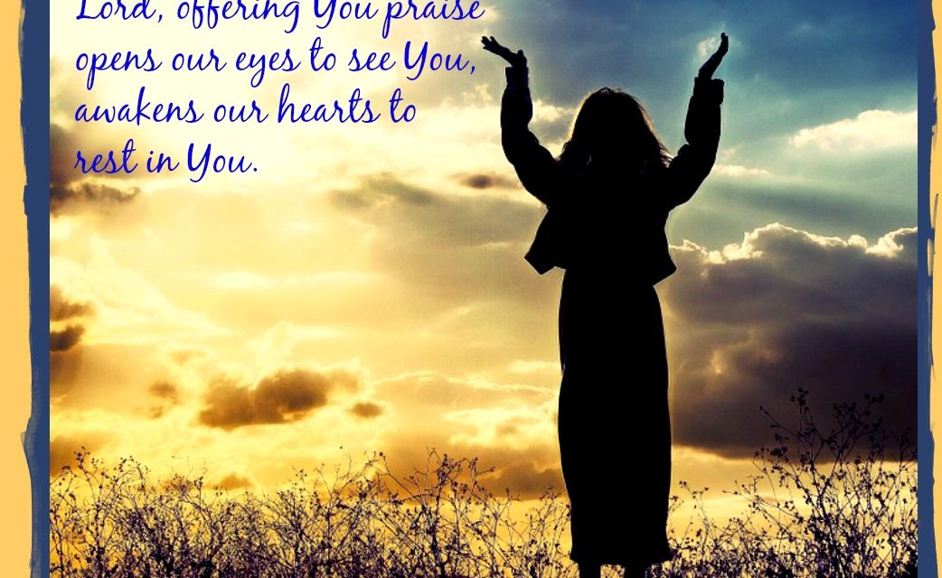 Finding God's Presence ~ A Prayer of Praise When Your Tongue is Parched