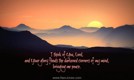 Finding God's Presence ~ A Prayer to Cease Striving and Know He is God