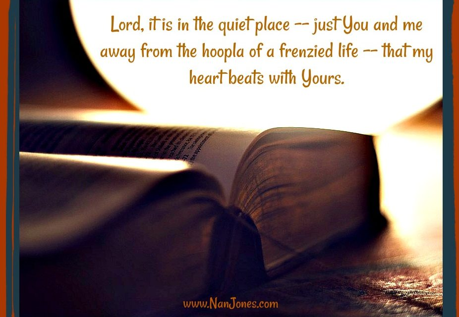 Finding God's Presence ~ A Prayer When Words Are Not Enough to Express My Praise