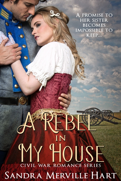 A Rebel in My House by Sandra Merville Hart