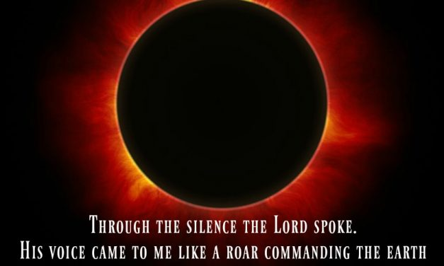 Finding God's Presence ~ Eclipse. When God Commanded the Earth to Be Still