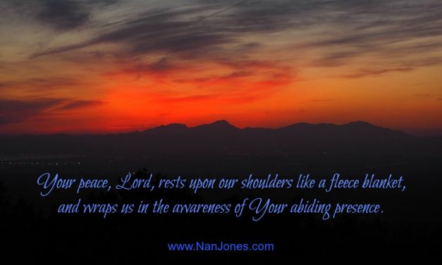 Finding God's Presence ~ A Prayer for Peace When Clinging Desperately to the Cross