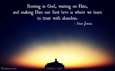 Finding God's Presence ~ A Prayer to Learn Trust With Abandon