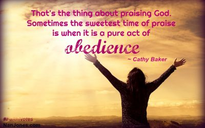Faith Notes ~ Cathy Baker: Where is God When I Have to Wait for Answers?