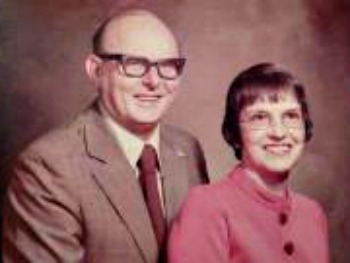 Mom and Dad, 1974, right after her diagnosis.