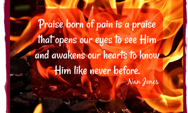 Finding God's Presence ~ How Can I Sing In The Fire?