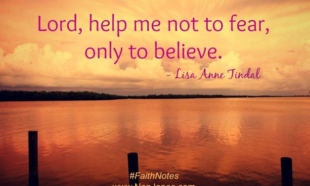 Faith Notes ~ Lisa Anne Tindal: Finding God in Quiet Confidence
