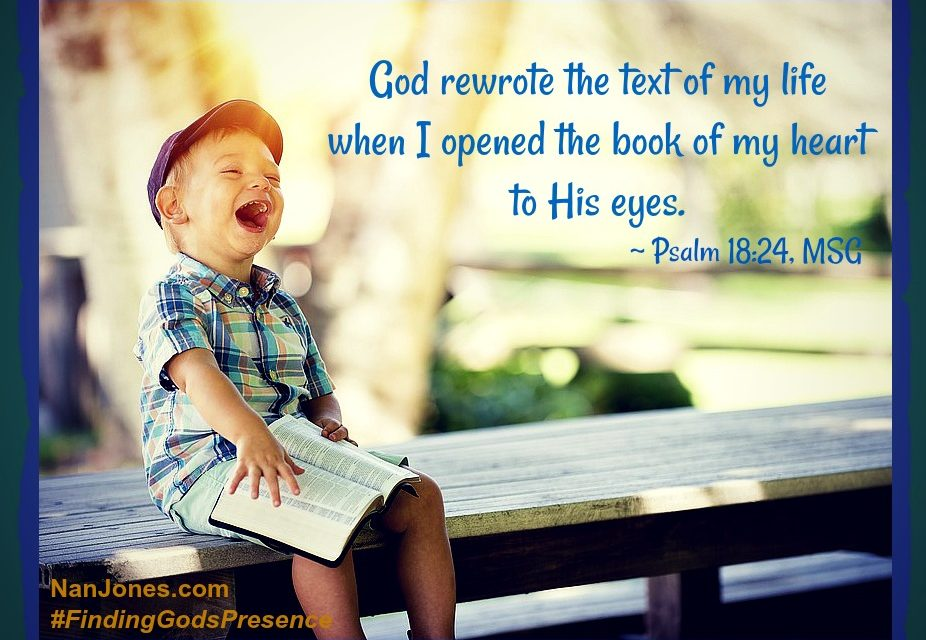 Finding God's Presence ~ When I Need to SEE God