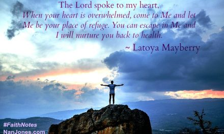 Faith Notes ~ Latoya Mayberry: A Life Redeemed After Spiritual Abuse