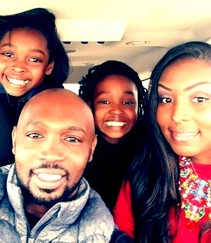 Ed, Latoya, Aniyah, and Erinn Mayberry