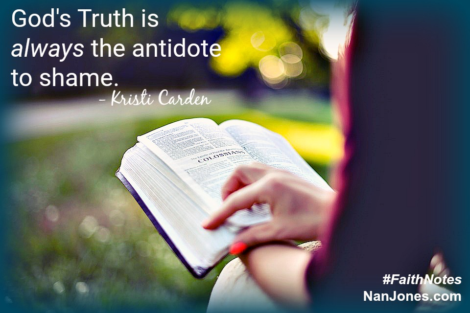 Even our heart's wall of protection must yield to the truth of God's Word.