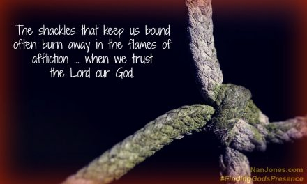 Finding God's Presence ~ Have You Ever Thought About the Ropes?