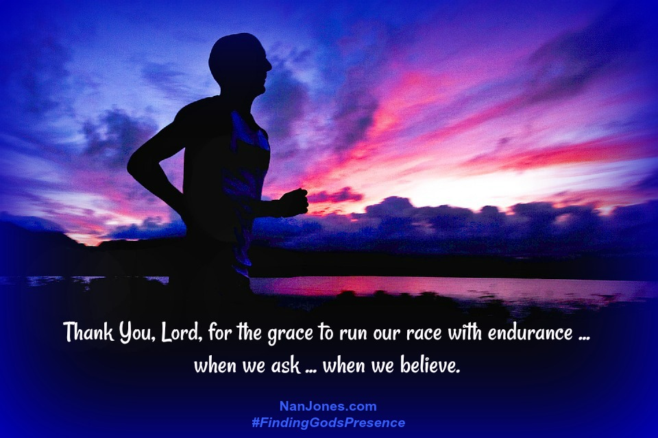 Endurance is possible when we depend on Jesus for our strength.
