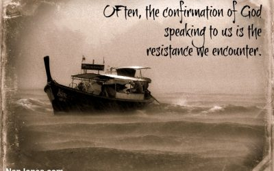 Finding God's Presence ~ When Strong Headwinds Cause Us to Struggle