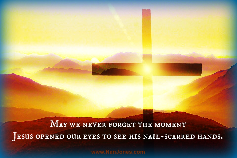 He taught us the sound of His voice the day He called us to salvation.