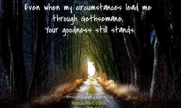 A Prayer When Our Path Leads Through Gethsemane