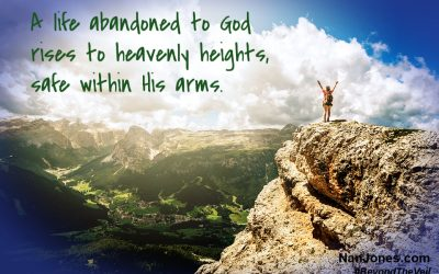 Leap With Abandon and Rise Into His Arms