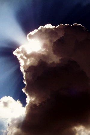 If we'll watch and wait and expect, the silver lining of Your glory will appear right at the darkest moment.