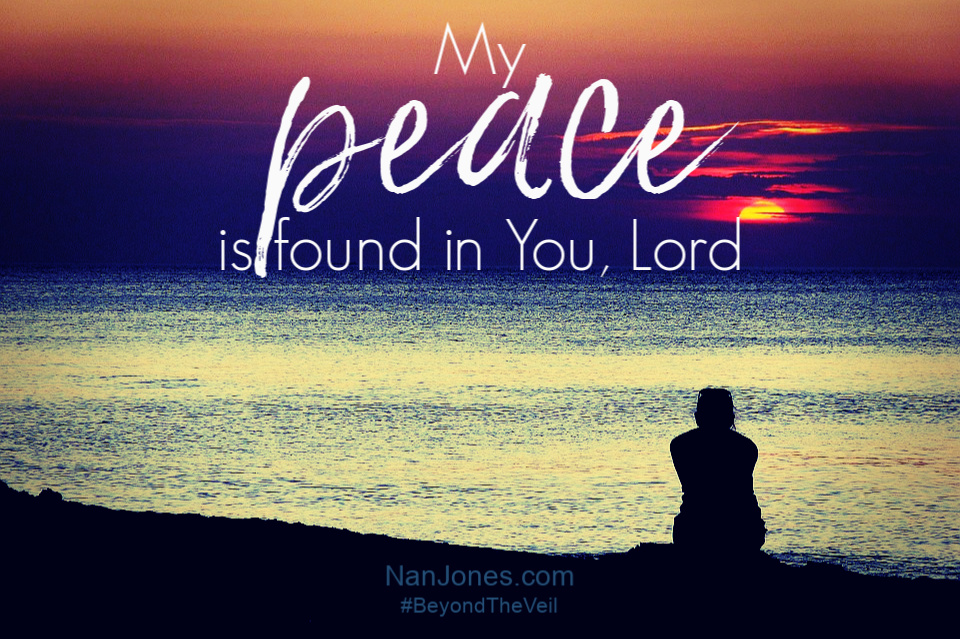 In Your presence is unspeakable joy, resounding peace, and my worry melts away.